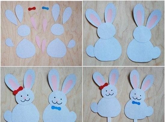 Поделки зайцев для детей